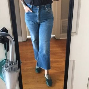 Levi's Crop Flare Jeans 10 30